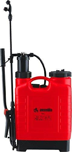 Ausonia - Pompa da giardino a spalla 12 Lt REVERSIBILE con leva lancia e braccio richiudibili