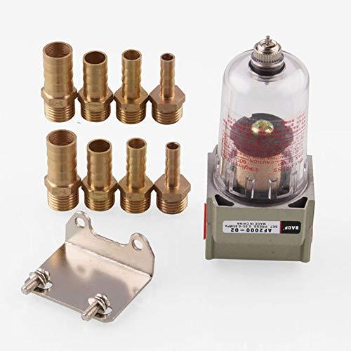 Separatore Olio Motore Universale Facilità di rimozione Serbatoio Canotto Filtro Tubo Adesivi Auto Gas Mini Catch Serbatoio Accessori Car Tool Capture