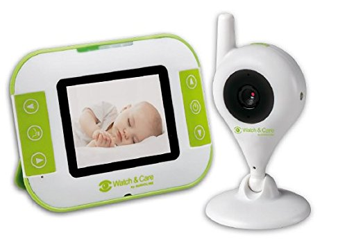 Watch Video (Audioline, Watch and Care V140, Video-Babyphone mit Nachtlicht und Gegensprechfunktion)