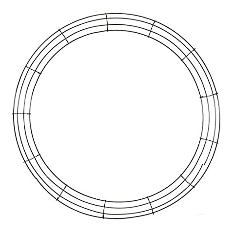 Wire Wreath Frame-24