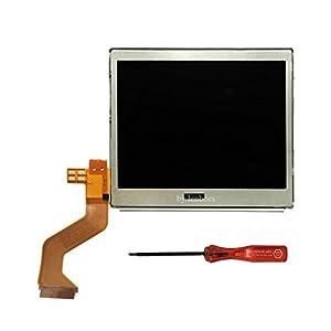 Lenboes Original Top Oberen LCD-Display Ersatz für Nintendo DS Lite DSL NDSL mit Öffnung Werkzeug
