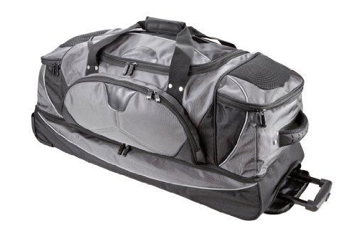 Dermata Doppeldecker Reisentasche grau