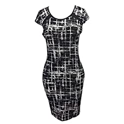 Wawer Women Bandage Bodycon Short Sleeve Sexy Party Cocktail Pencil Mini Dress Great For Party/Daily/Beach from Wawer