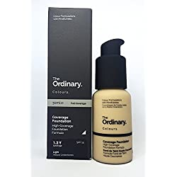 Die normale Deckung SPF 15 - 30 ml - 25,000 Warteliste - Full Coverage Foundation. 1.2 Y