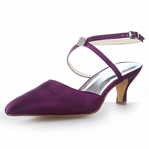 Chaussures à bout rond violettes femme o9LSs3YY