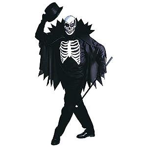 WIDMANN Widman - Disfraz de esqueleto de halloween adultos, talla S (39151)