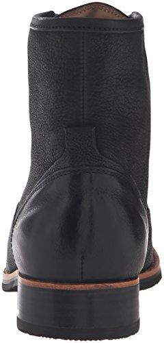 Sebago Womens Jane Mid Chukka Boot Black Leather