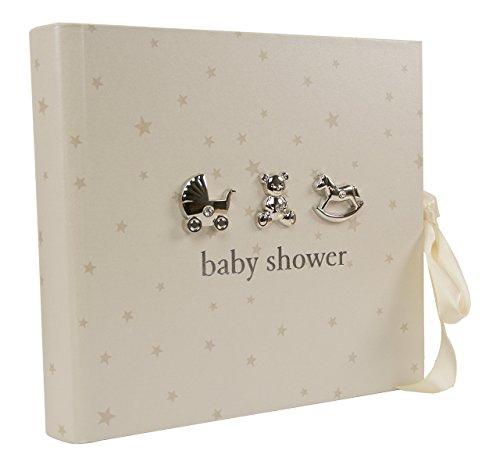 Fotoalbum Baby-Shower Geschenk mit 3D-Applikationen, für 80 Fotos, 15.24 cm x 10.16 cm