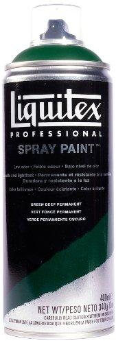 Liquitex Professional - Acrílico en spray, 400ml, verde oscuro permanente