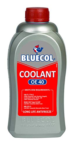 Bluecol - Textile chain Cooler Frost protection concentrate Red 1 liters - oe40
