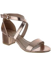 Zapatos Amazon Tacon Uk Image Miss Medio Fiesta Mujer es BBxZwvr5