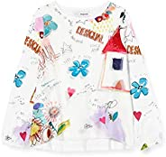 Desigual TS_Gracia Camiseta para Niñas