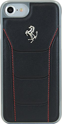 ferrari-488-genuine-leather-case-for-apple-iphone-7-black-silver-horse