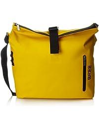 BREE Punch 715, Yellow, Messenger S18 - Borse a spalla Unisex Adulto, Giallo (Yellow), 14x30x40 cm (B x H T)