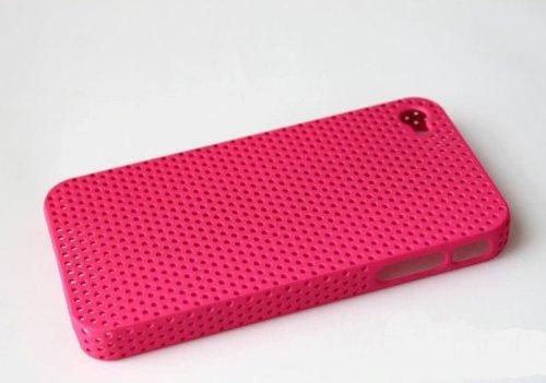 Etui pour iPhone 4 Hard Case perforé (Rose) Rose