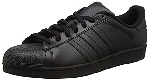 adidas Superstar Foundation, Sneakers Basses mixte adulte, Noir (Core Black),