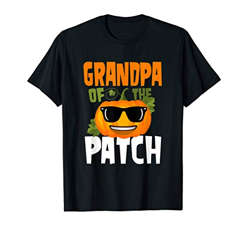 pa Of The Patch T-Shirt Cute Family Halloween  T-Shirt ()