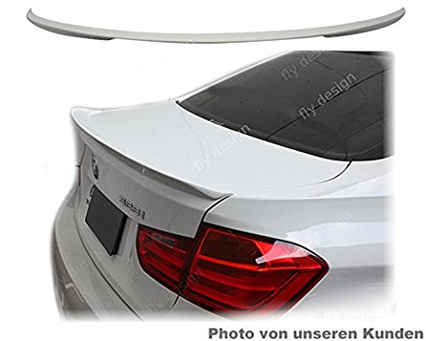 BMW F30 Aerodynamik Tuning Auto Kfz teile Heckklappen Spoiler Heckspoiler