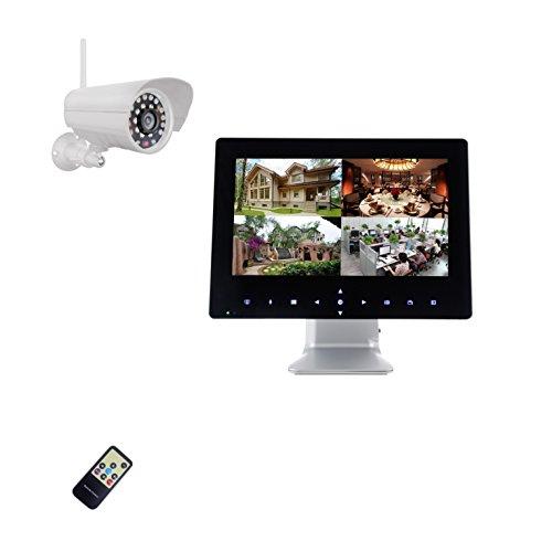 9-pulgadas-Half-Touch-Monitor-720P-HD-Radio-Sistema-de-Video-Vigilancia-Tiempo-real-1-x-Visin-Nocturna-Cmara-ampliable-a-4-Cmaras