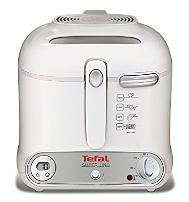 Tefal friteuse uno pour super 3021 wh / gy