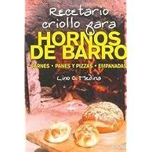 Recetario criollo para hornos de barro/Creole Cookbook for clay oven