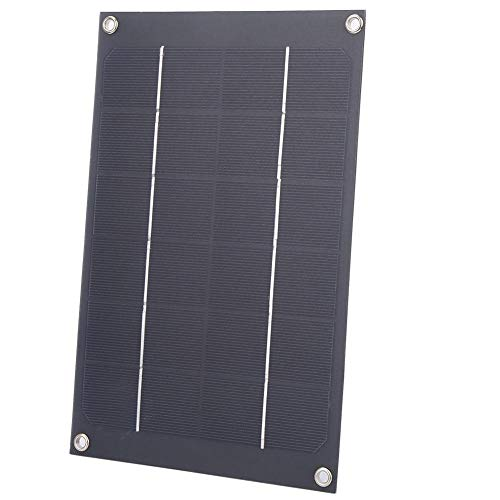 Alomejor 6W 6V Solar Ladegerät 6W USB Solar Ladegerät Solar Panel Batterie Backup für Telefon Kamera Laptop