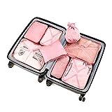 Ancora imbarazzato dal caos della tua valigia?  Ancora preoccupati per tutti i tipi di cose non sapendo come scaricarli?  Il Travel Bag vi aiuterà a risolvere tutti i vostri problemi. Il kit di viaggio è dotato di otto diversi tipi di sacchet...