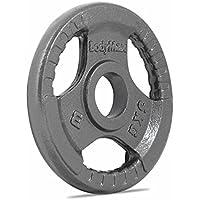 Bodymax Olympic Cast Iron Tri-Grip Weight Disc Plates - Singles