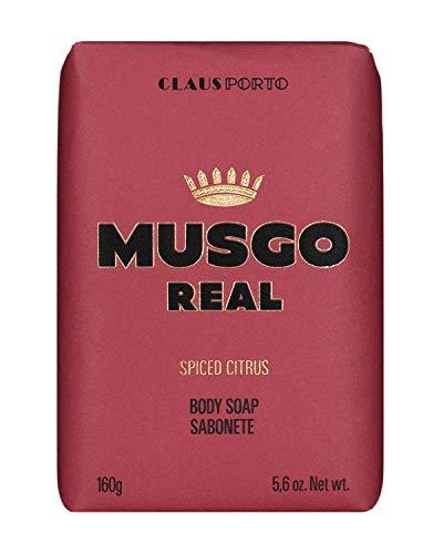 Claus Porto Musgo Echt Gewürzt Zitrus Herren Seife (160 g)