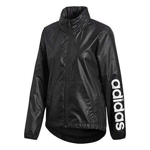 Da donna Adidas Linear giacca antivento Black