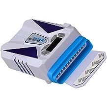 TXJ® New Generation Aktive Laptop/Notebook Externen Kühler Laptop Vacuum Fan Cooler Laptop Hot Air Extractor cooler master für HP, Dell, Lenovo, Toshiba, Acer, Asus Macbook und andere (weiß)