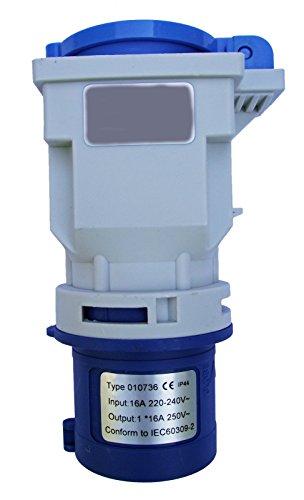 Preisvergleich Produktbild Adapter Kupplung von CEE nach Schuko Steckdose