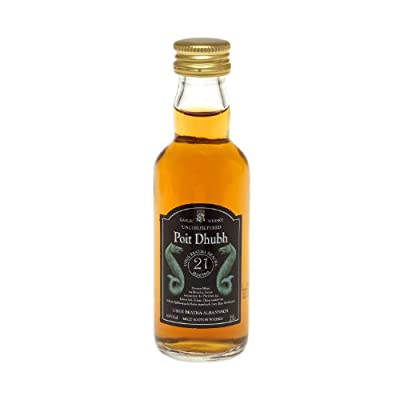Poit Dhubh 21 year old Single Malt Scotch Whisky 5cl Miniature by Poit Dhubh