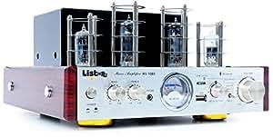 Ampli amplificateur à tube audio Hi-Fi musique système home cinéma Bluetooth MP3 AUX 50 Watt RV-1080