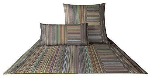 JOOP! Bettwäsche Fine Stripes 4507 Fb. 33 - Spektral Größe: 135 x 200 cm