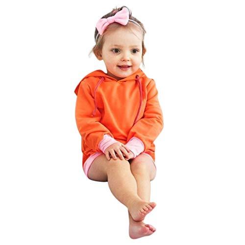 Mitlfuny Ropa Bebé Primavera Otoño Camisas Niñas