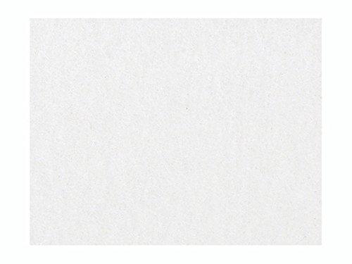 KnorrPrandell 30 x 45 cm Modellier-Filz stark, Weiß