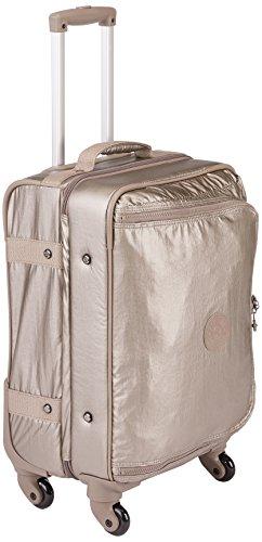 Kipling - CYRAH S - 37.5 Litri - Trolley - Metallic Pewter - (Dorato)