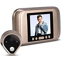 VBESTLIFE Home Safeguard 3.2 Pulgadas LED 1MP HD Mirilla Electronica Smart Viewer Timbre Visual Digital