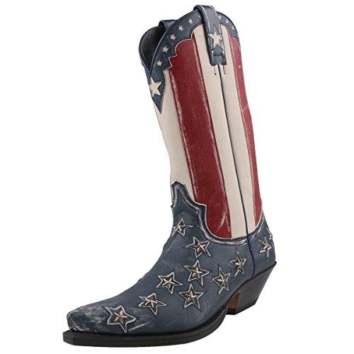 Sendra Boots, Stivali uomo Blu blu, Blu (blu), 42