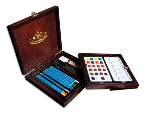 Royal & Langnickel RSET-WPEN1600 - Artist Premier Aquarellstifte Set