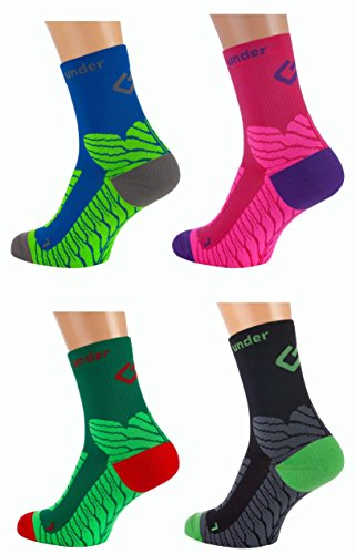 Sport Kompressions Socken 'under pressure SOCKX' (schwarz, 39-42) (Kompression-socken)