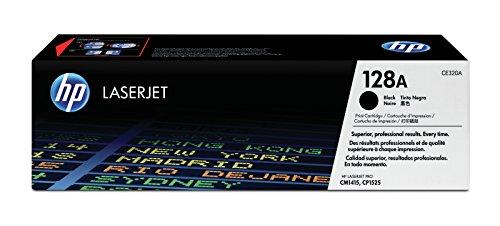 HP 128A (CE320A) Schwarz Original Toner für HP Laserjet Pro CP1525, HP...