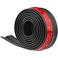 Tiras de 3M de ONEVER, de goma, universales y adhesivas, para pegar el parachoques del coche, de 2,5m de largo y 60mm de ancho
