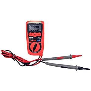 Pyle Pocket Size 3en 1Multimètre numérique avec tension, capacité et résistance, PDMT05