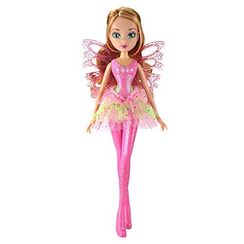 Giochi Preziosi Winx sirenix Bubbles Wings, Flora con alas y...