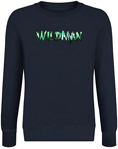 Wildman Sweater-Jumper for Men & Women - Soft Cotton & Polyester Blend - High Quality DTG Printing - Custom Printed Unisex Clothing