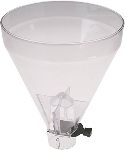 Mazzer Kaffeebohnenbehälter für Kaffeemühle SUPER-JOLLY, LUX Höhe 260mm ø 208mm Aufnahme ø 57mm JOLLY