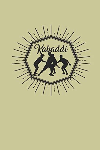 KABADDI: NOTIZBUCH Journal 6x9 Notebook lined