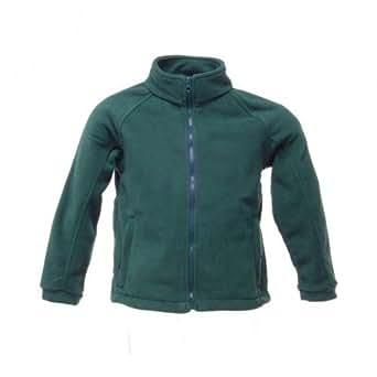 Regatta Kids/Childrens Thor III Fleece Jacket (250 GSM) (34inch) (Bottle Green)